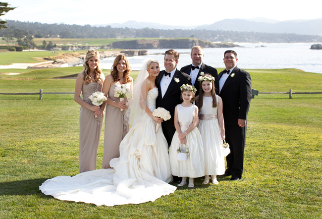 Pebble Beach Wedding in Carmel California