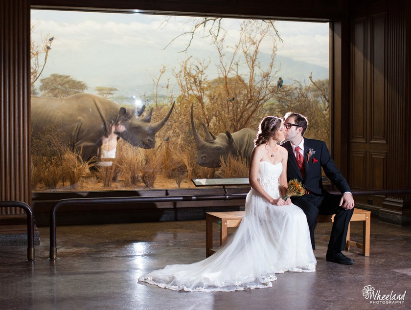 Los Angeles Natural History Museum Wedding Wheeland Photography