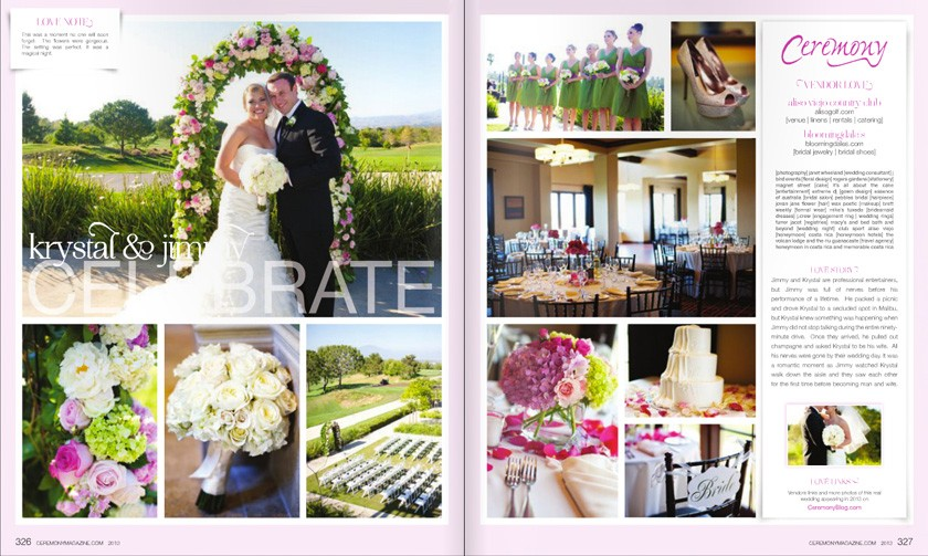 Wheeland Photography Ceremony Magazine