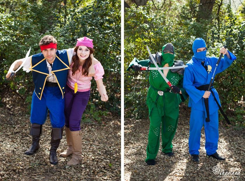 Ninjago & Pirates Birthday