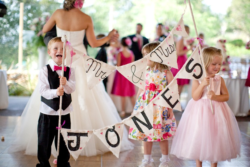 Cute Kids Wedding