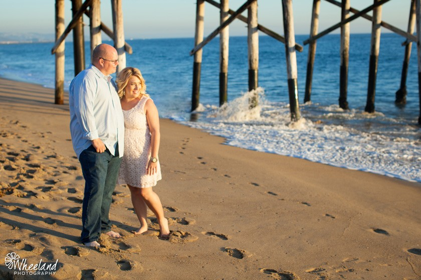 Newport Beach Sunset Engagement Session