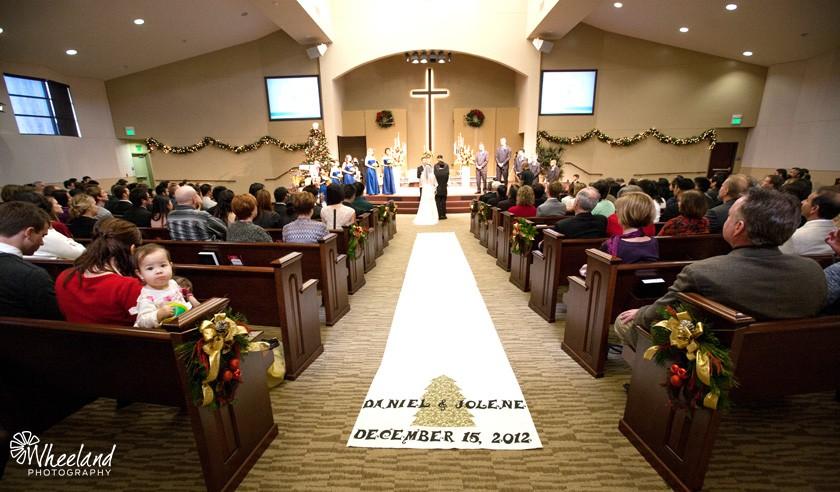 Christ Community Church Wedding