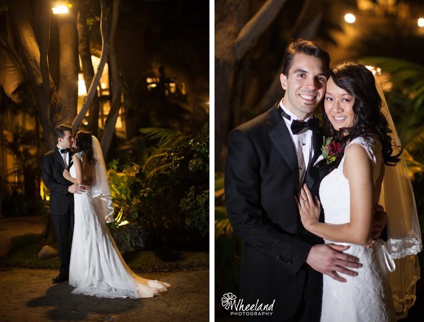 Night Wedding Ritz Carton Laguna Niguel
