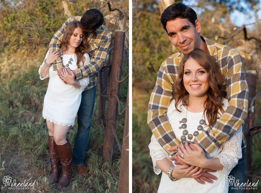 Black Star Canyon Engagement Session