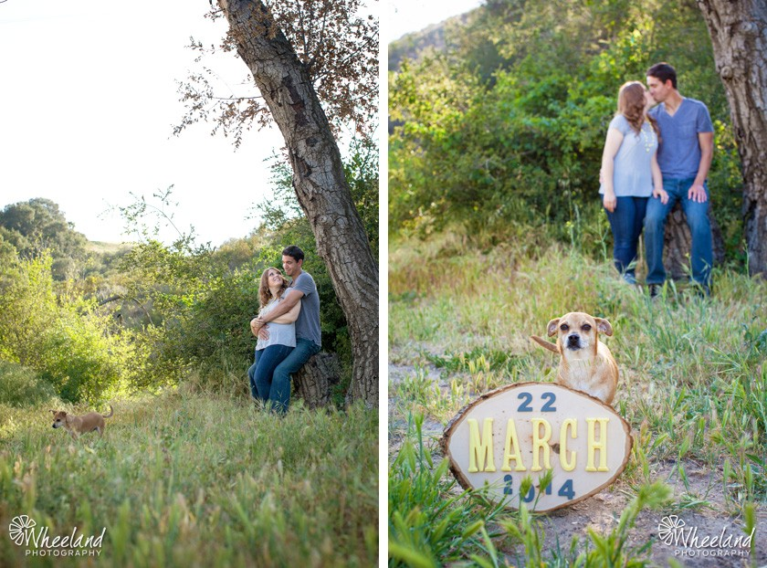 Sarah and Josh Engagement Santiago Canyon