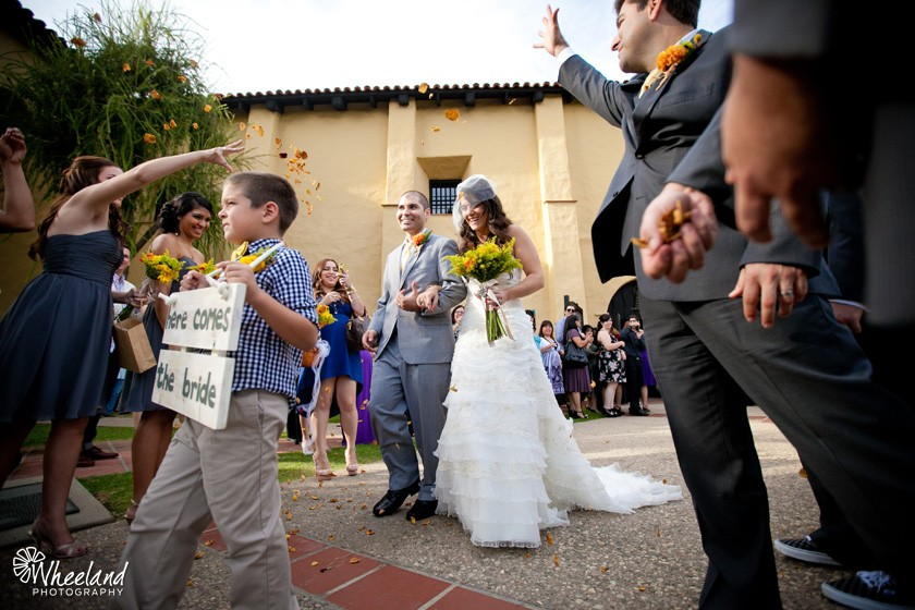San fernando mission wedding