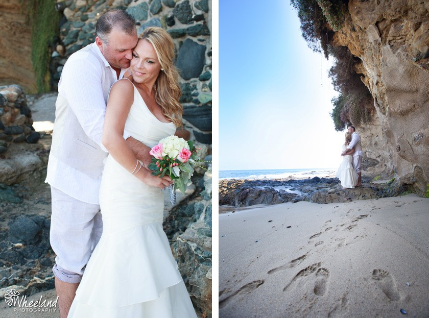 Beach Wedding Divers Cove Laguna