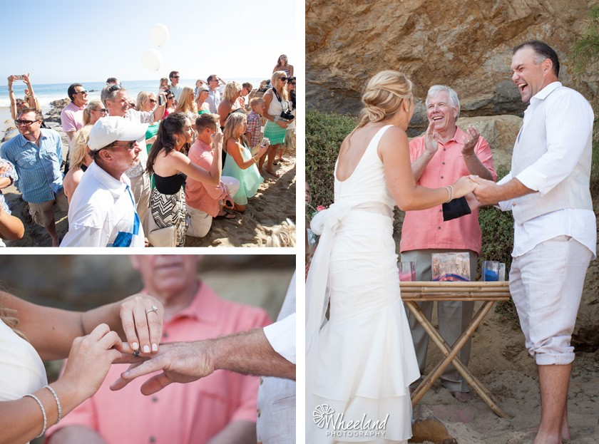 Laguna Beach Divers Cove Wedding