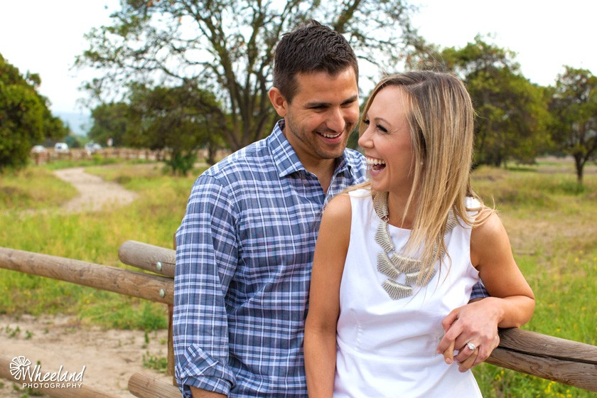 Orange Grove Engagement Session