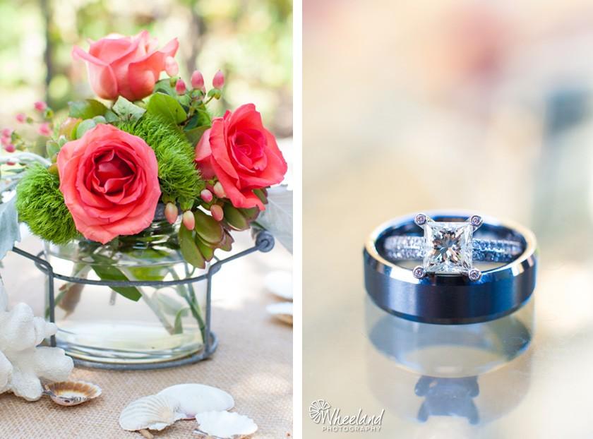 Ring Shot Pink Roses