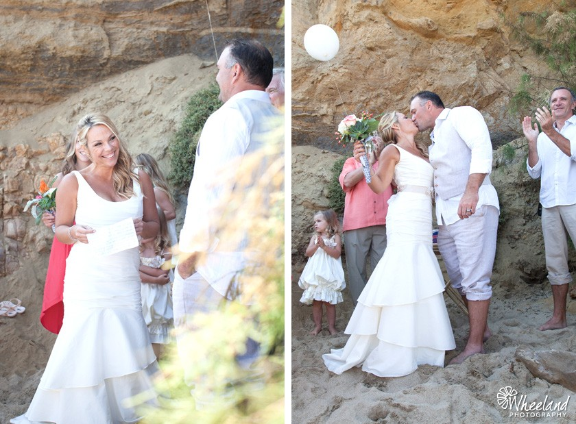 Small Beach Wedding Laguna Beach California