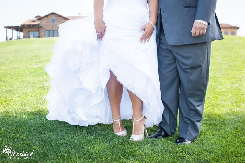 bride groom shoes