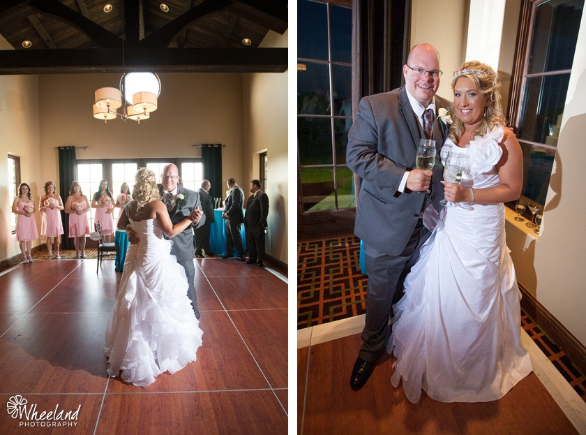 first dance mason jar wedding toast