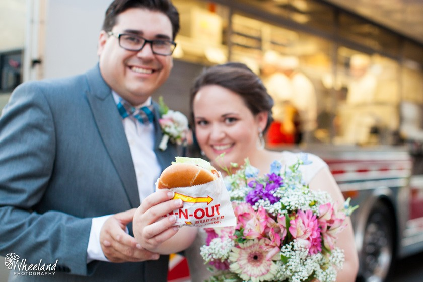 In-n-Out Bride and Groom Orange County