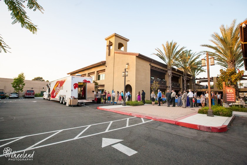 In-n-Out truck wedding