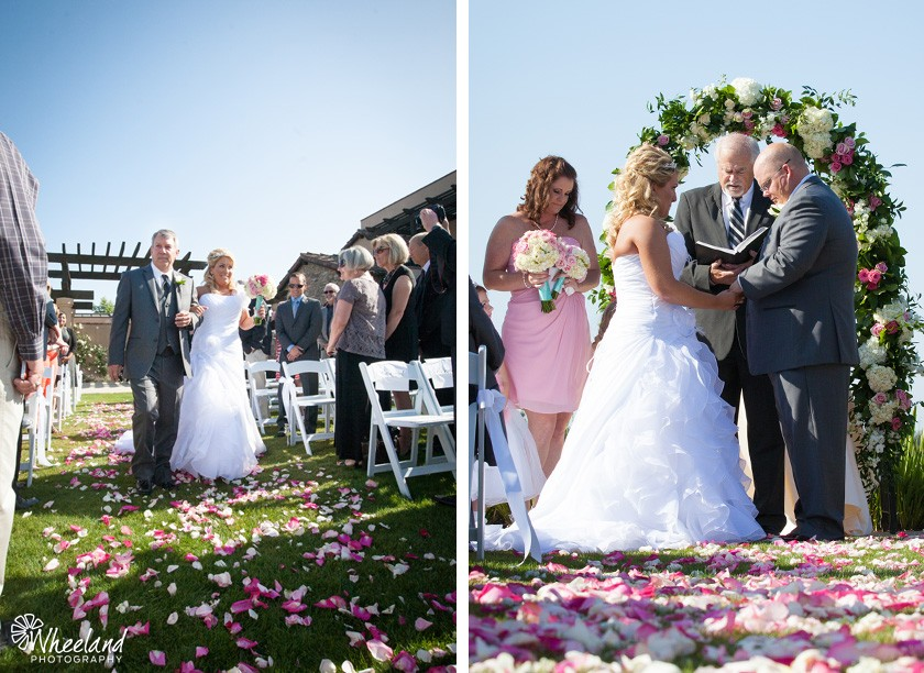 outdoor orange county wedding
