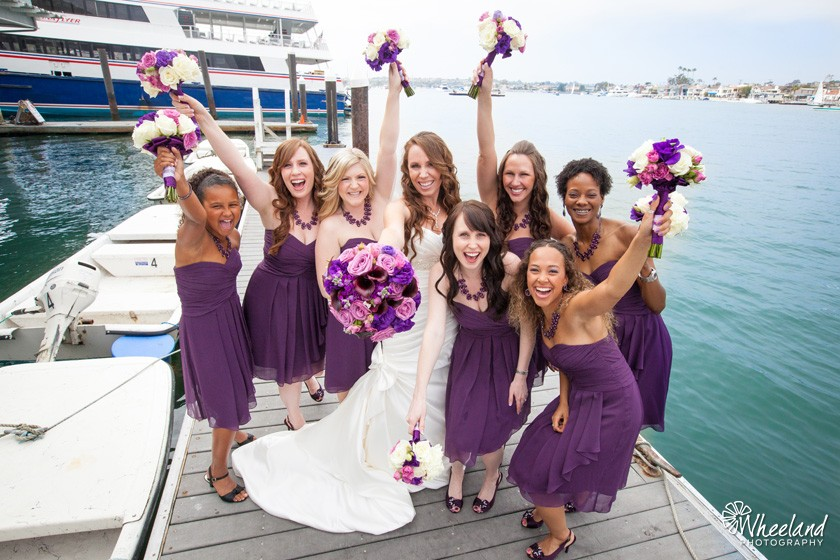 creative fun bridesmaids photos