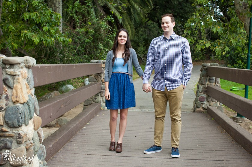 Engagement Session in Irvine Regional Park