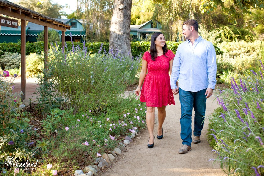 San Juan Capistrano Engagement Photos