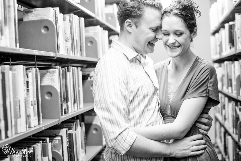 Library Date Night - Wheeland Photography
