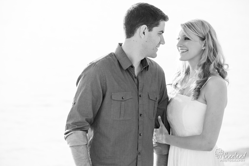 Black & White Engagement Photos