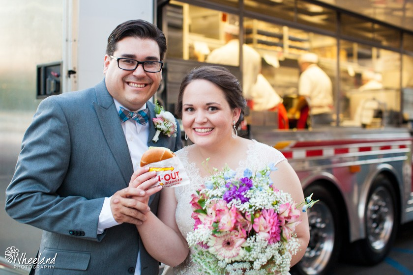 In-N-Out Truck Caters Weddin