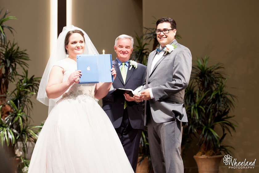 iPad Wedding Vows