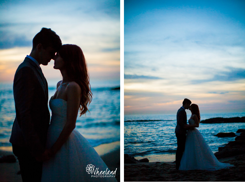 Sunset Kiss Wedding