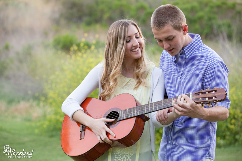 Engagement Photos Guitar