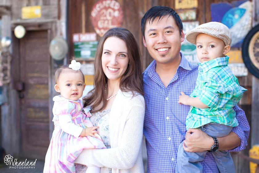 Jerome Tso Family Portrait