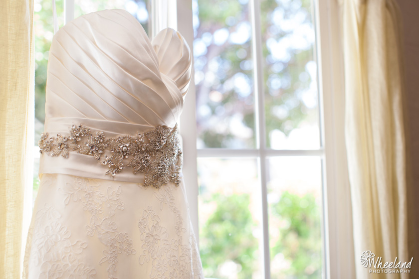 Bride Wedding Dress detail