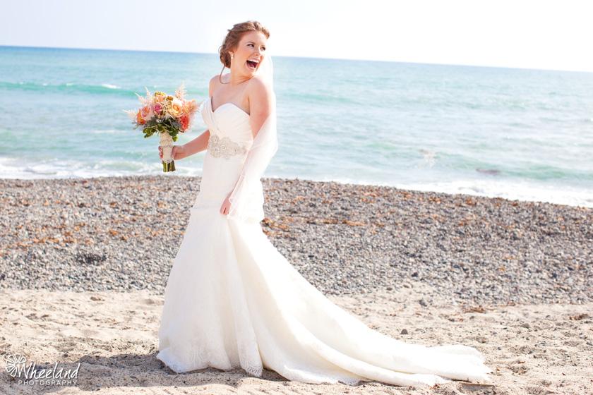 San Clemente Beach Wedding