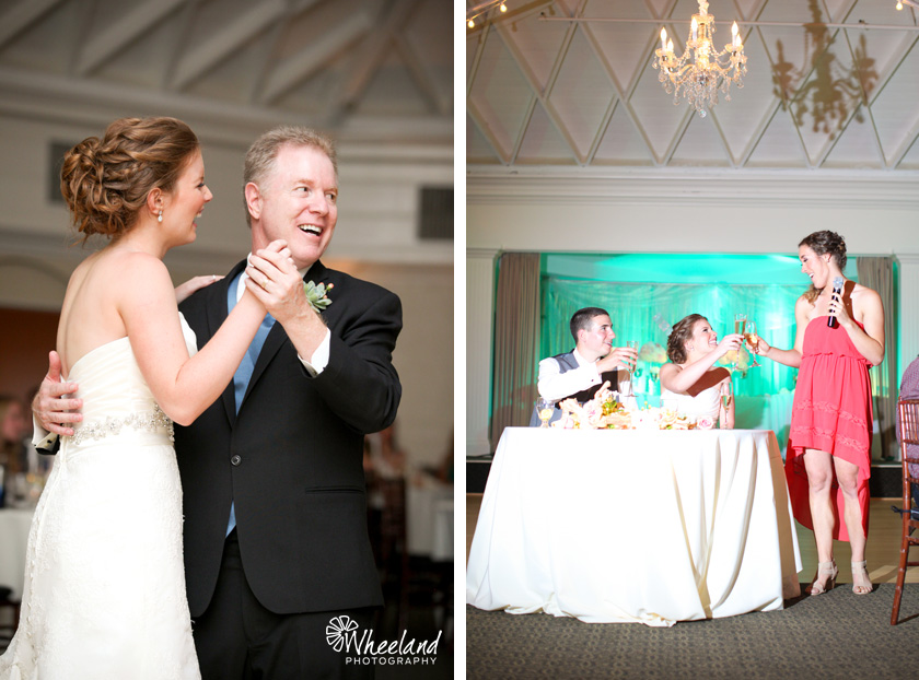 Father Daughter Dance and Toasts