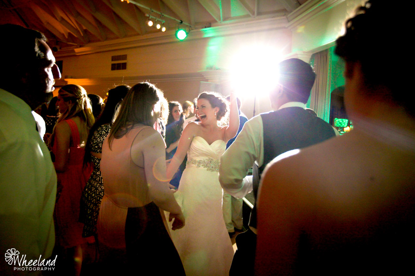 Reception Bride Dancing The Casino San Clemente