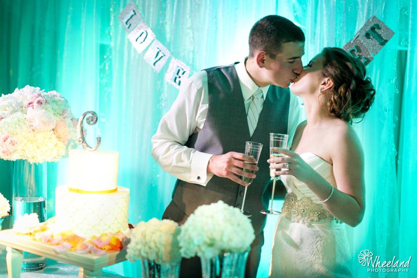 Wedding Cake Kiss