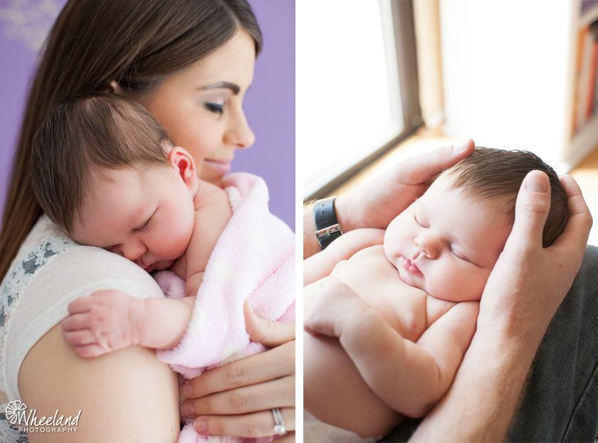 Newborn Photos with Parents