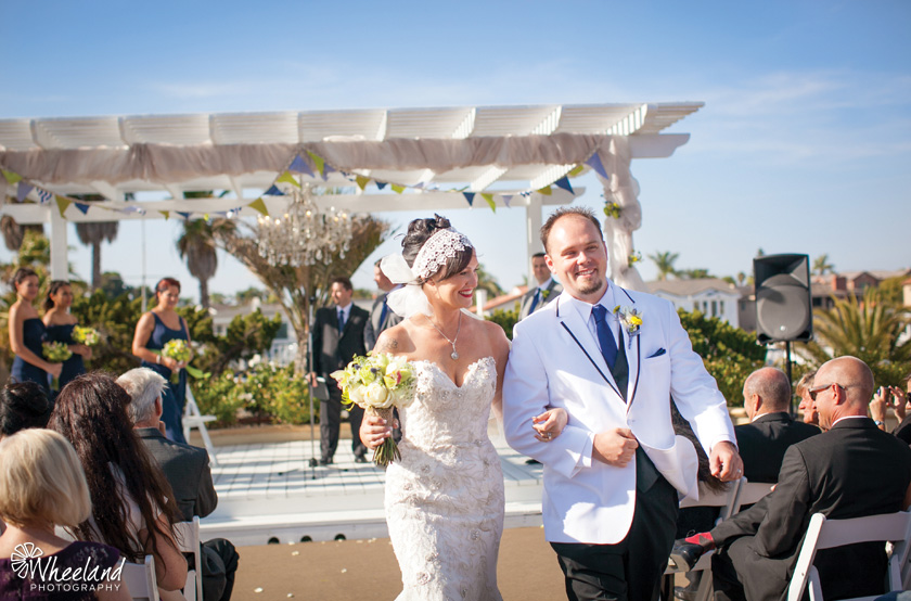 Huntington Harbour Bay Club Wedding
