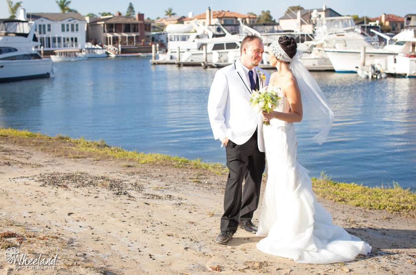 Huntington Beach Wedding Party