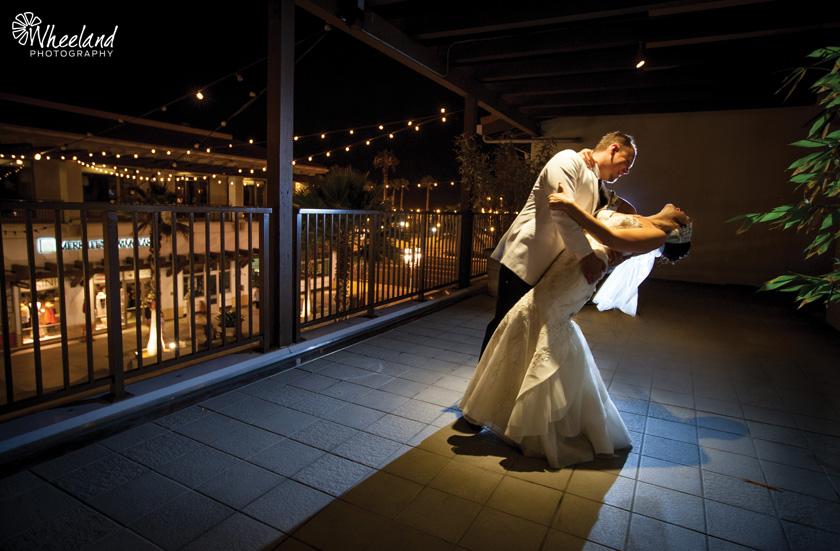 Wedding Night Shot