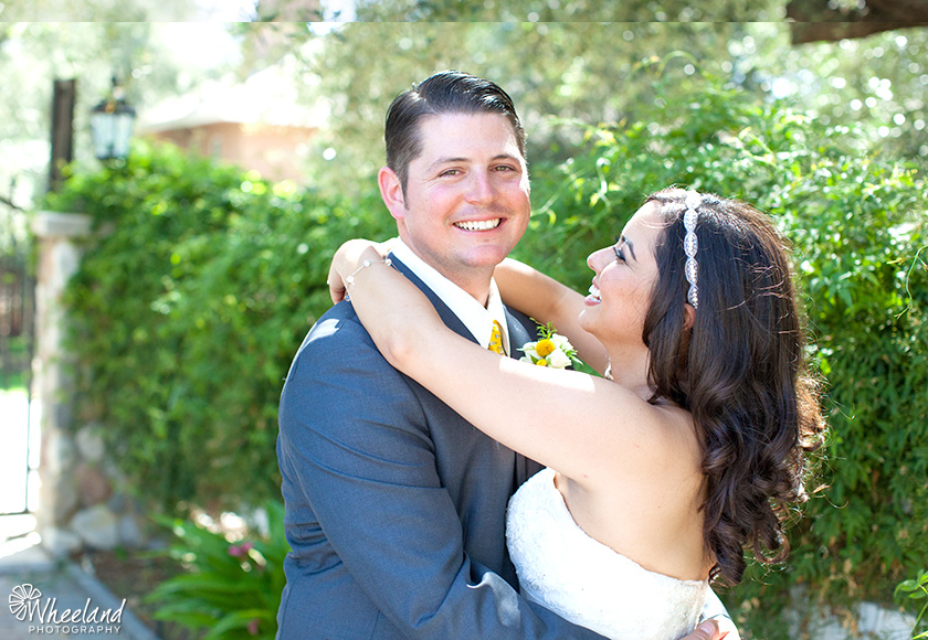Santiago Canyon Wedding
