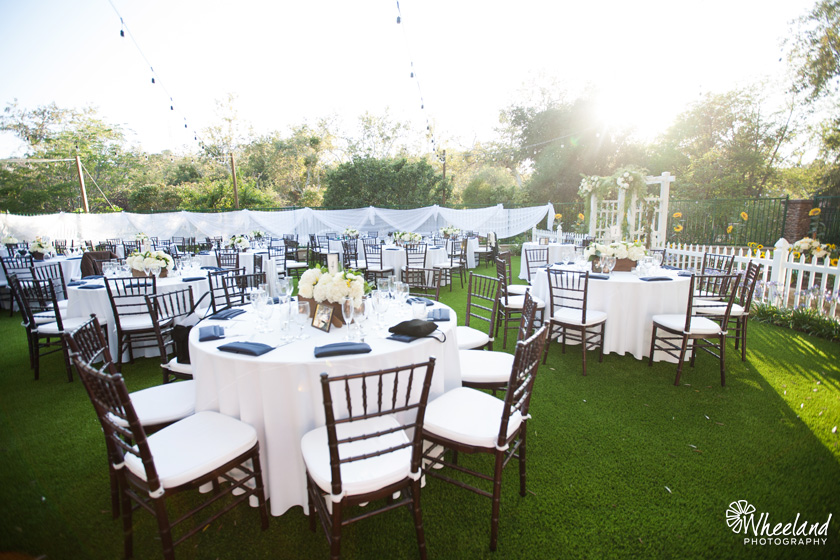 Santiago Canyon Backyard Wedding