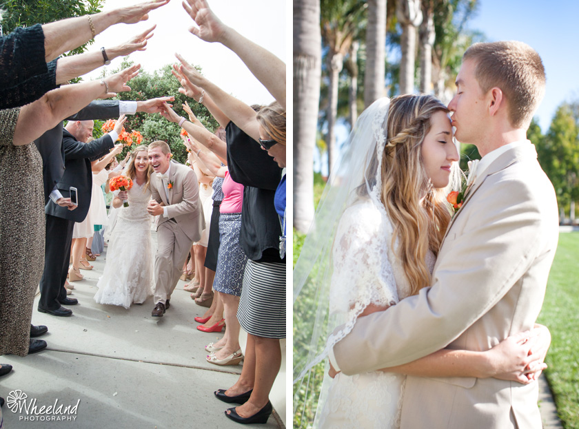 San Diego LDS Mormon Temple Wedding