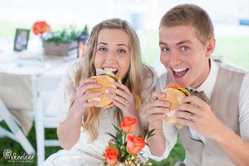 TK Burger Catered Wedding