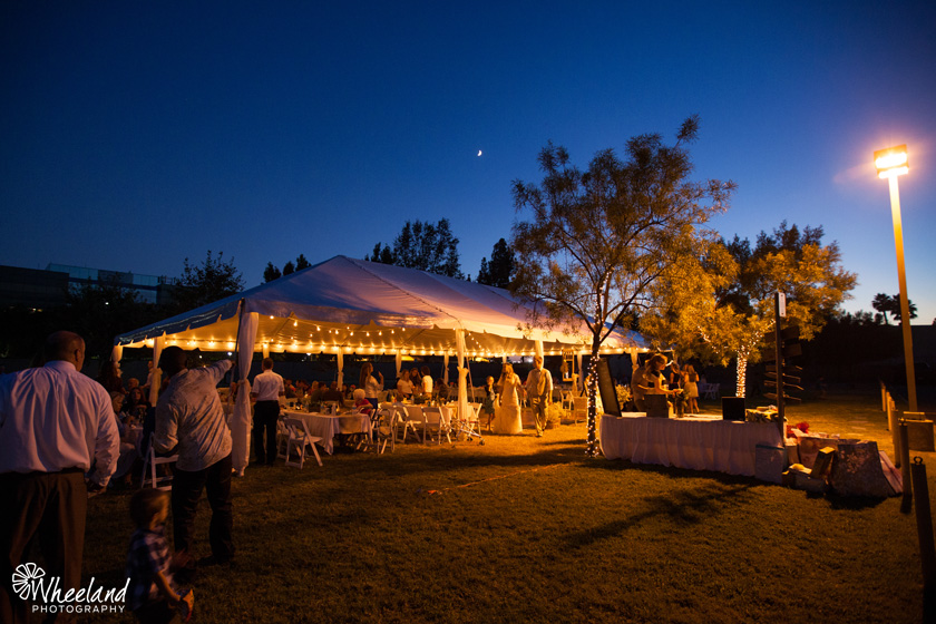 Outdoor Wedding Reception Orange County