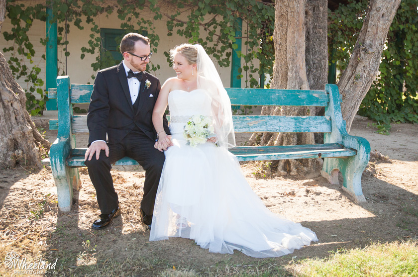 outdoor wedding california
