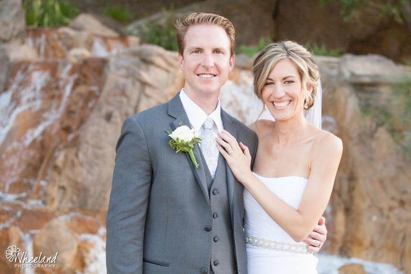 Dove Canyon Courtyard Wedding