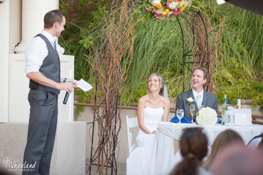 Dove Canyon Courtyard Wedding