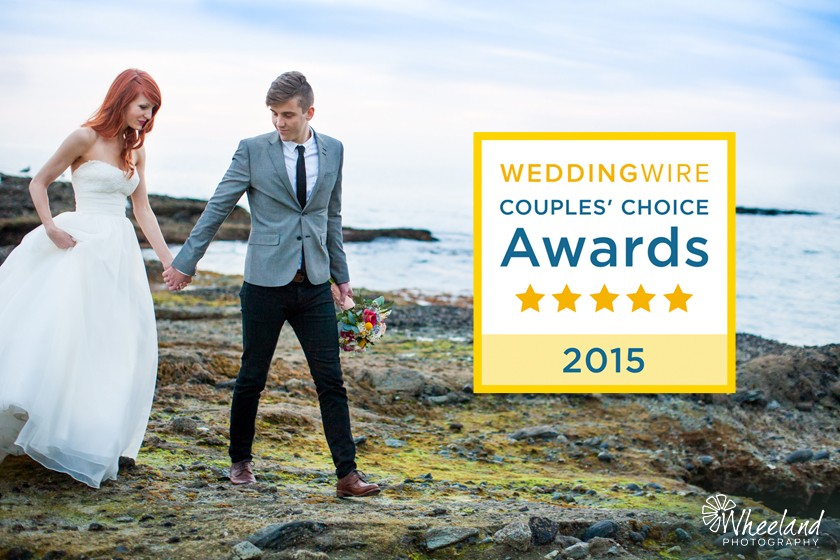 Wedding Wire's Couples Choice Award 2015
