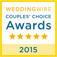 WeddingWire's Couples Choice Award 2015